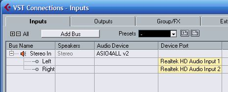 Audio Drivers for vocals